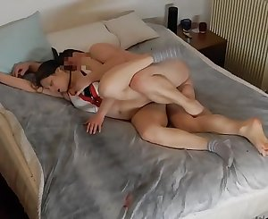Amateur girl lets cum him for two times