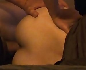 Mature asian chinese wife with big nut sack fucked slow and deep from behind - part 1
