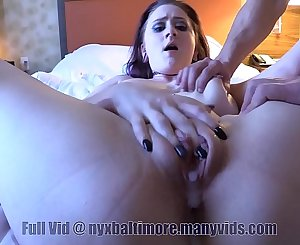 Teenage Nyx Pays The Rent with Double Creampie