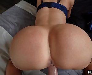 Stepmom deep throats and fucks me while on the phone with dad