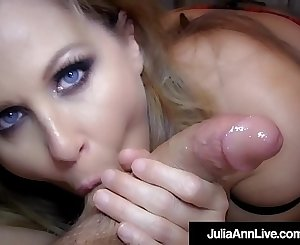 Get Your Cock Sucked By Mummy Julia Ann In This POV Fantasy!