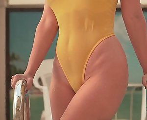 My swimsuit becomes transparent when wet. I was a little embarrassed when public around  were watching me…