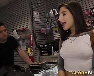 Abella Danger Gam Jiggling Orgasm During BBC Anal - Gloryhole