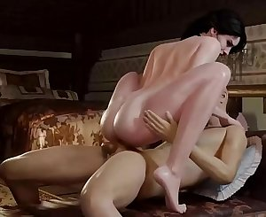 Yennefer Gets Her Beautiful Ass FUCKED - The Witcher Best of SFM Porn Compilation