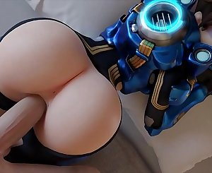 Tracer Gets Her Big Ass FUCKED - Overwatch Porn Compilation Best of Tracer: Cadet Oxton Skin 2018