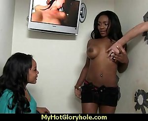 black lady have surprise gloryhole Twenty-one